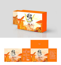 稻花香大米包装盒