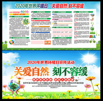 2020世界环境日活动展板
