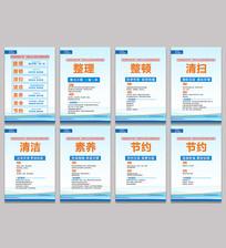 企业7s管理制度展板设计