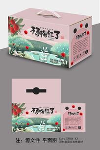 杨梅礼盒包装设计