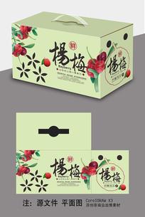 杨梅水果包装设计