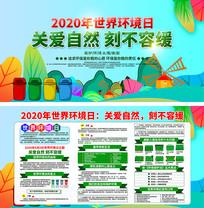 2020世界环境日展板设计
