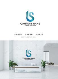大气建筑LS字母造型设计企业标志LOGO