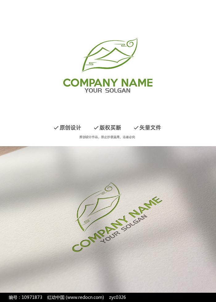 优雅意境茶叶企业标志LOGO图片