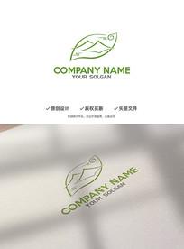 优雅意境茶叶企业标志LOGO
