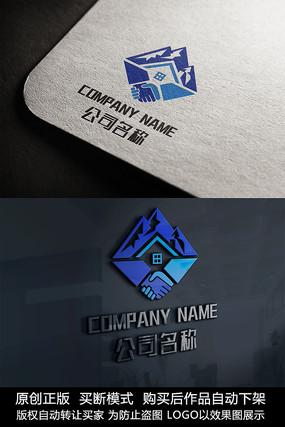 房地产logo标志商标设计