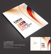曲线画册封面设计