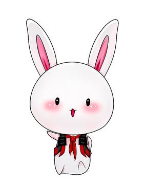 原创可爱卡通动物背书包兔