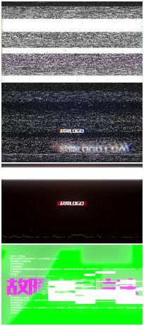 故障logo视频模板