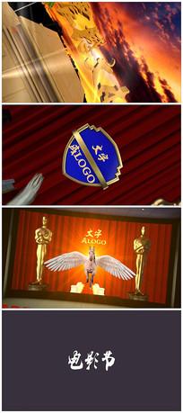 震撼电影颁奖典礼片头视频模板