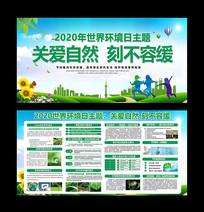 2020世界环境日宣传栏