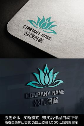 花logo标志公司商标设计