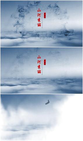 大气edius中国风水墨片头模板
