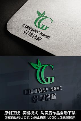 G字母logo标志