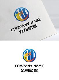 Hl字母房地产logo标志