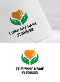 绿色健康食品logo