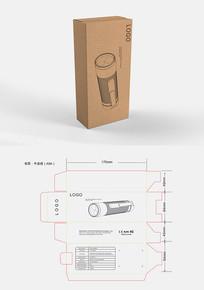 手电筒包装盒