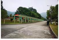 防腐木文化长廊