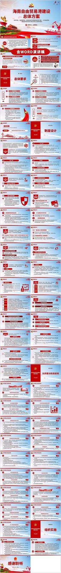 海南自由贸易港建设总体方案解读ppt