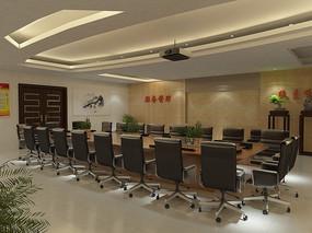 会议室大厅3DMAX模型