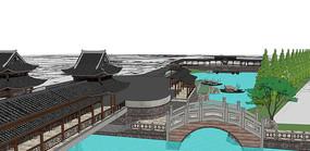 丝绸码头内码头效果图
