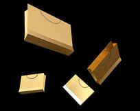 原创金色手提礼袋