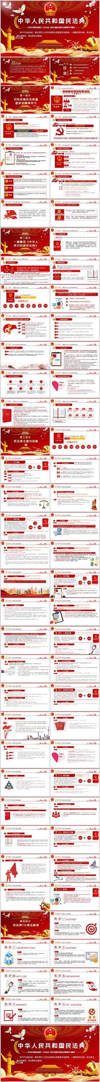 中华人民共和国民法典学习解读党建党课
