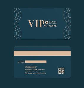 经典蓝通用vip会员卡