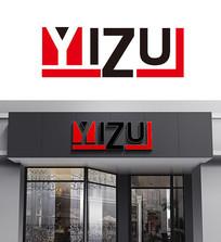 yizui字母LOGO设计