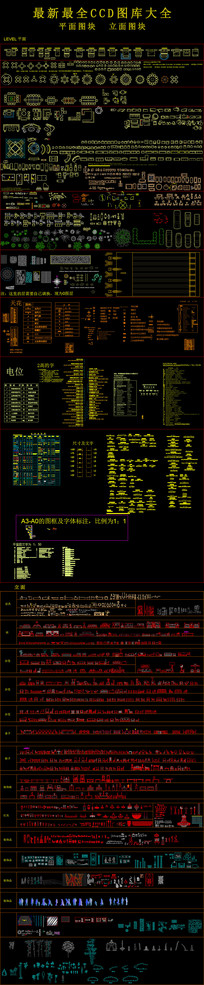 CCD最新施工图库整理大全
