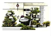 别墅入户景观设计