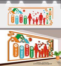 创意社区文化墙设计