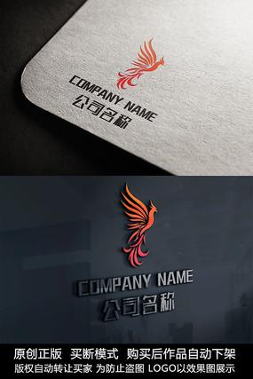 凤凰logo标志公司商标设计