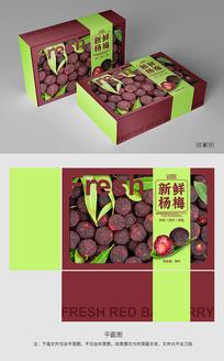 水果杨梅创意包装