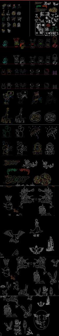 图案 玩具CAD图库