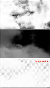 云层穿越特效视频素材