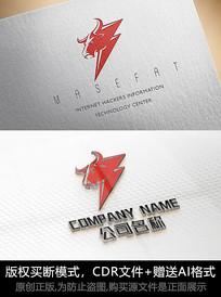 牛logo标志牛商标设计