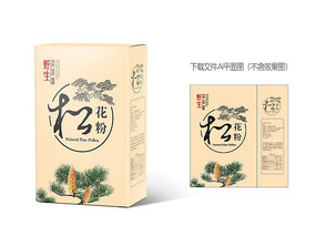 松花粉饮品包装