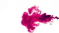 彩色水墨墨汁水中扩散视频素材