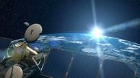 地球卫星太阳太空宇宙视频素材