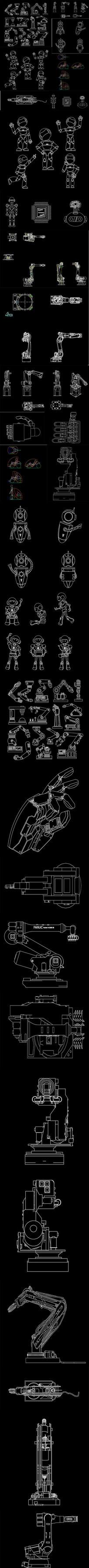 机器人CAD图纸
