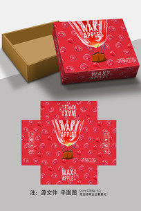 莲雾包装盒设计
