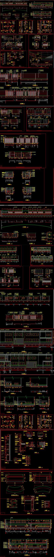 全套汽车展厅CAD施工图