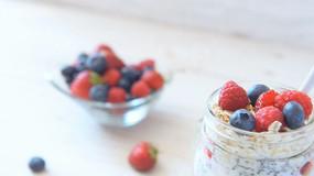 水果沙拉草莓零食美食视频素材