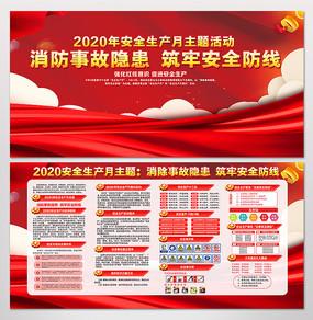 2020大气安全生产月活动展板