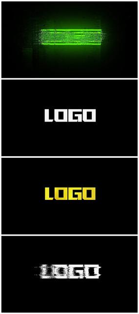 信号干扰毛刺故障logo视频模板
