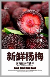 新鲜杨梅海报