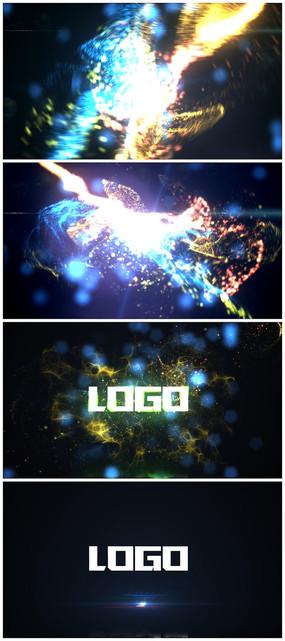 震撼粒子LOGO演绎视频模板