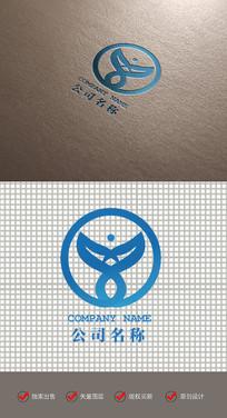 愤怒小鸟大气LOGO标志设计