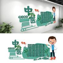 中医文化墙ai设计